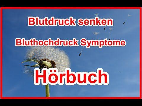 Blutdruck senken Bluthochdruck Symptome Hypertonie Hörbuch