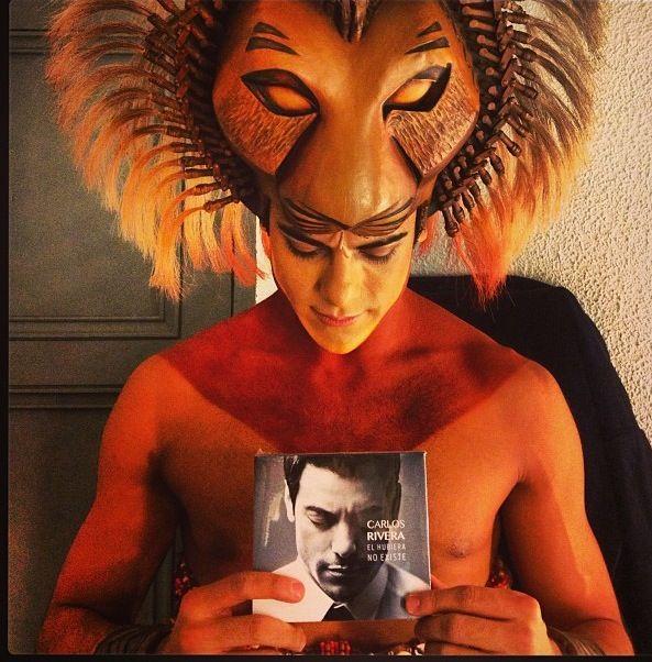 Carlos Rivera el rey leon mexicano de España