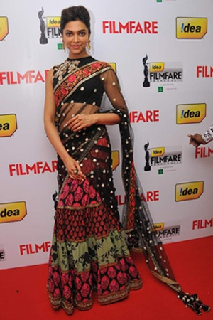 How to Dress Up in Desi Ensemble - Bollywood Style. Check out #DeepikaPadukone in #Sabyasachi