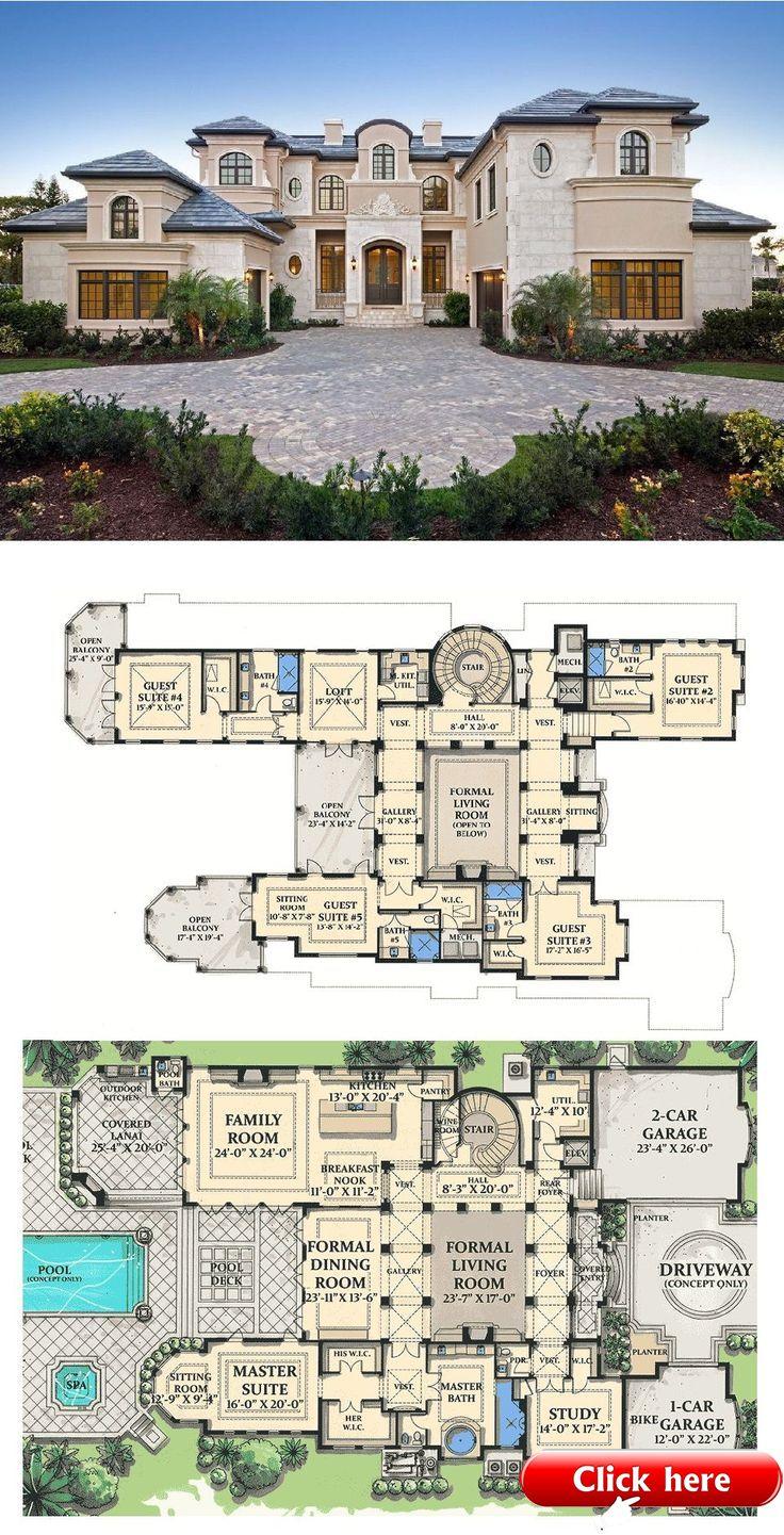 Plan 31804dn World Class Architecture Decor House Plans Mansion Sims House Plans Luxury House Plans