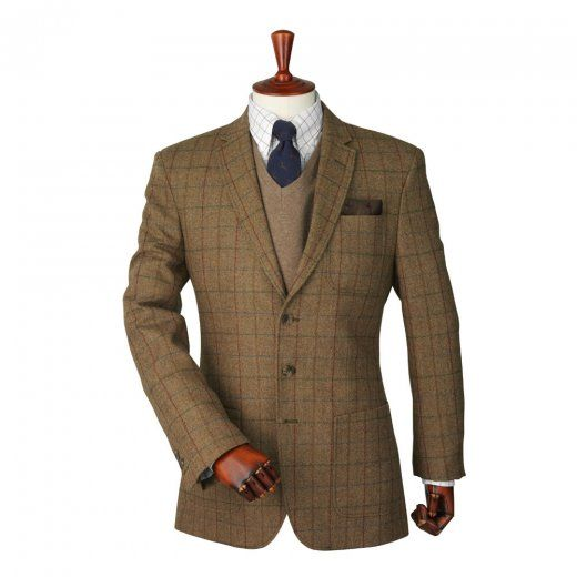 Laksen Esk Donegal Tweed Sports Jacket | Available online now