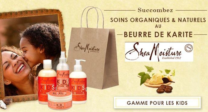 """Shea Moisture Crème boucles Coco & Hibiscus """"Kids"""" 170g - SUPERBEAUTE.fr"""