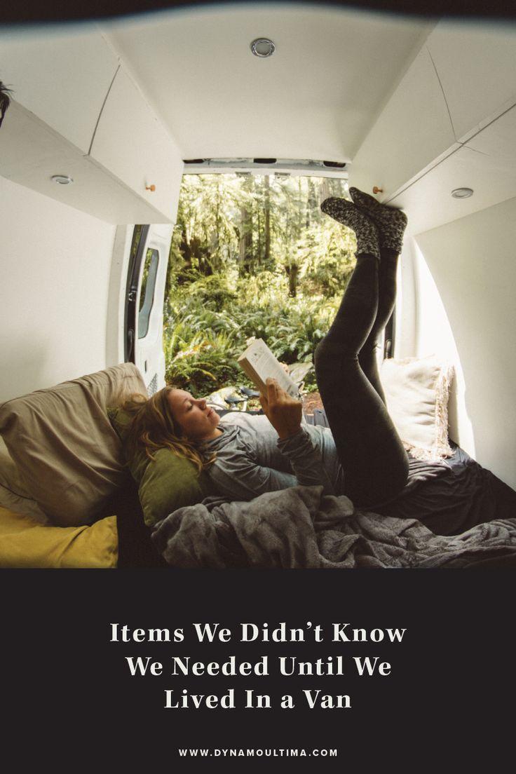 Items we didn't know we needed until we lived in a van | Van life essential items | Living in a van products | Sprinter van essentials