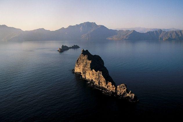 Détroit d'Ormuz et la péninsule du Musandam, Oman (Y.A.B.)