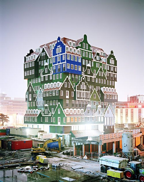 The Hotel Inntel in Zaandam The Netherlands by Wilfried van Winden of WAM Architecten
