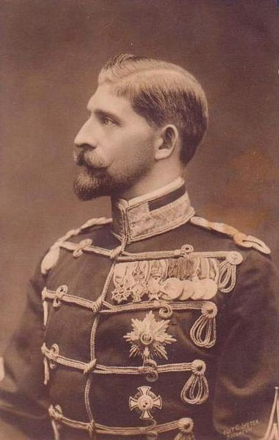 Groomed and polished - Ferdinand I, King of Romania.