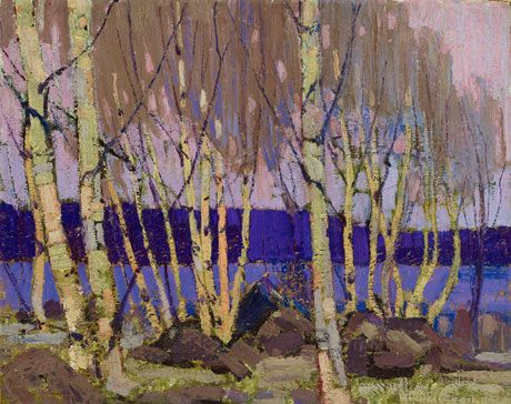 Tom Thomson - Evening, Canoe Lake