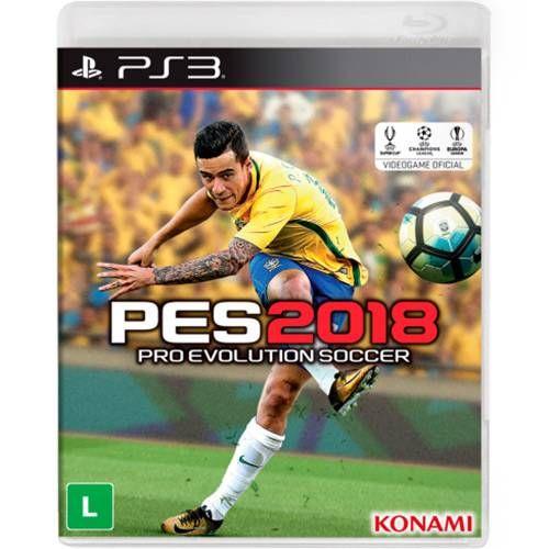 Game Pro Evolution Soccer 2018 - PS3