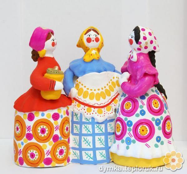 Dymkovo toy \ Дымковская игрушка