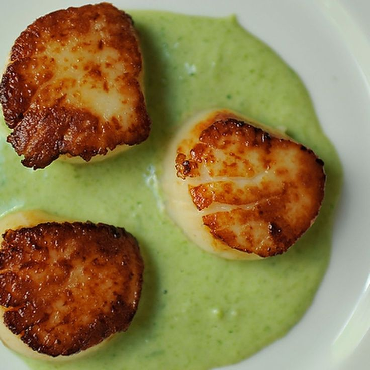 how to tell when grilled scallops are done