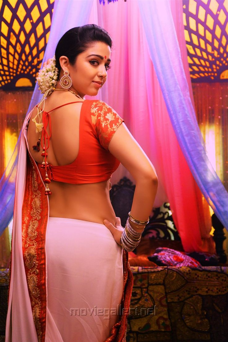 Jyothi Lakshmi Charmi Hot Saree Stills