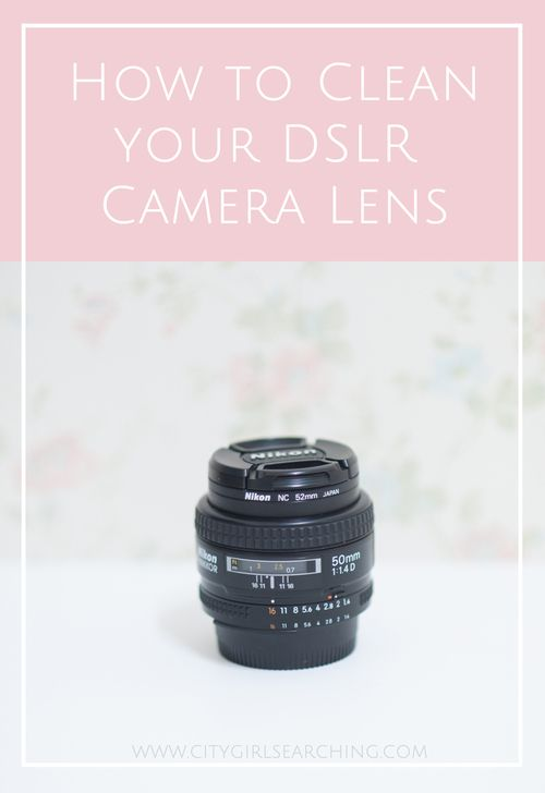 how to clean inside slr lens