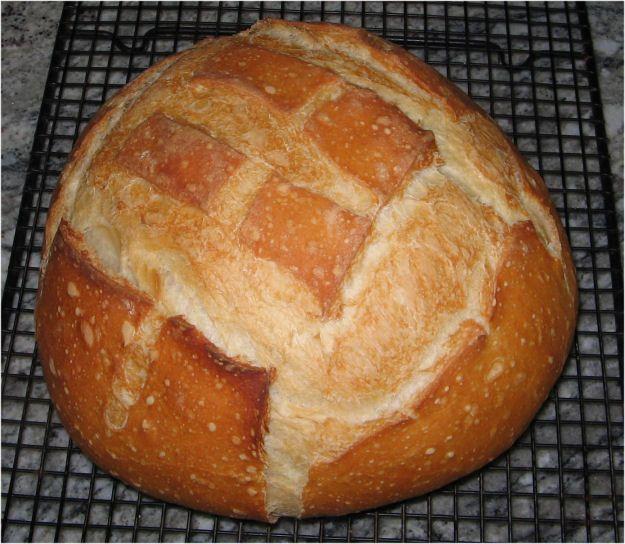 San Francisco Sourdough Bread (Хлеб на закваске из Сан Франциско)