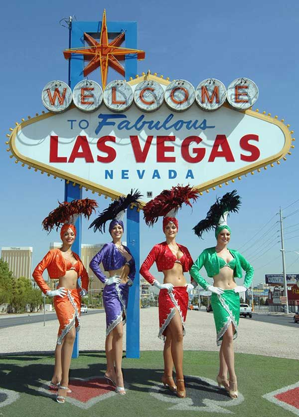 Google Map of Las Vegas, Nevada, USA - Nations Online Project