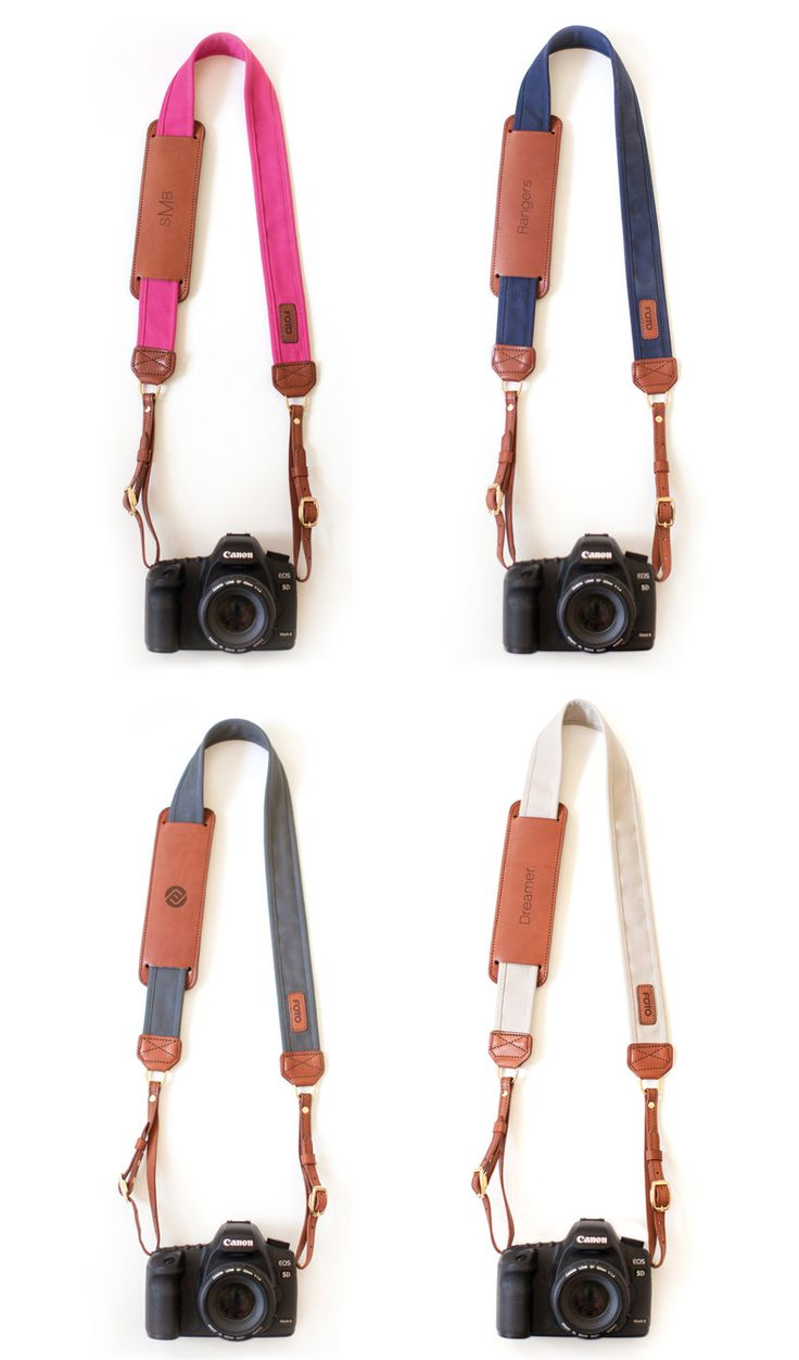 Fotostrap - fashionable camera straps for your camera!  Made in the USA, made with genuine leather, monogrammable shoulder pad, and gives back!  www.fotostrap.com