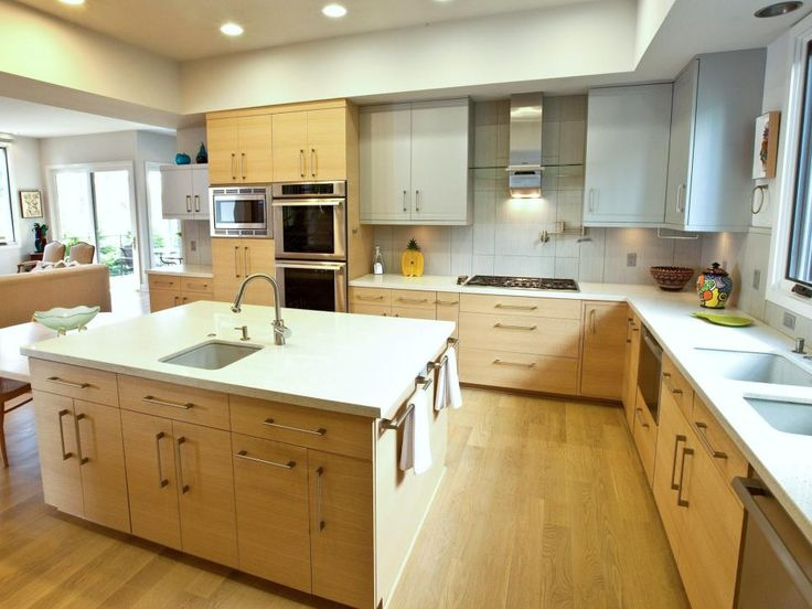 This is a perfect kitchen for a cook with a prep sink - Kitchen island with cooktop and prep sink ...