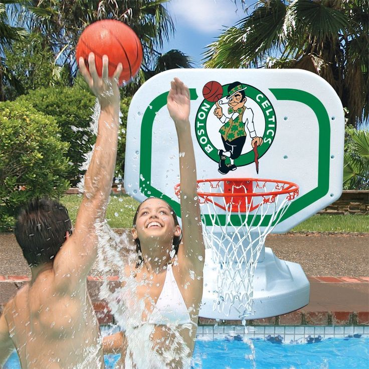22 best images about pool basketball on pinterest pools - Basketball goal for swimming pool ...
