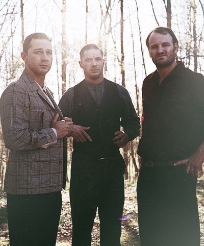 Shia LaBeouf, Tom Hardy & Jason Clarke (Lawless)