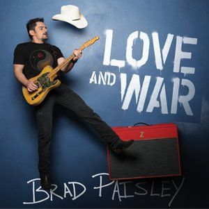 Grand Prize is a $1,800.00 3-day/2-night trip for 2 adults 21+ to a location TBD to see Brad Paisley in concert; 2 tickets to the concert; and a meet & greet with Brad.    Love and War is available everywhere April 21st!