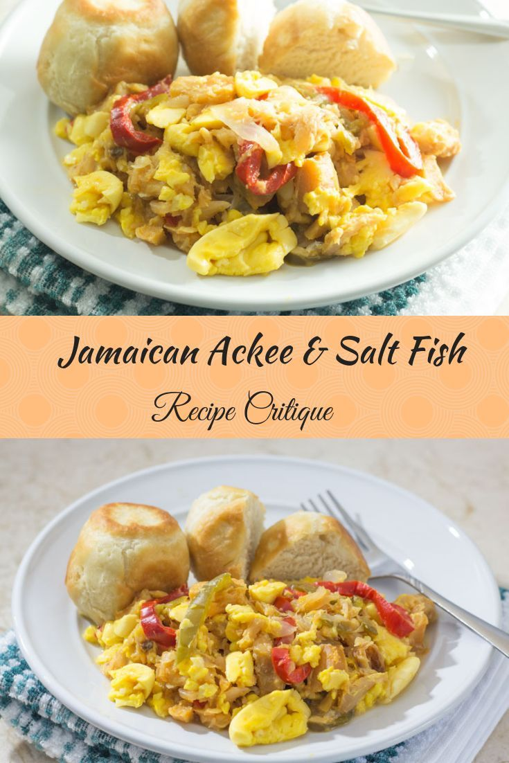 jamaican ackee and saltfish recipe in 2019 seafood recipes rh pinterest com