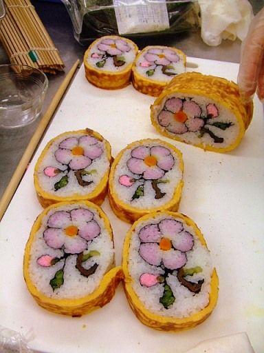 artistic sushi