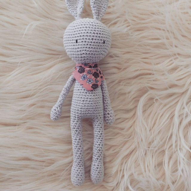 Tutoriel Lapin de printemps 🌸🐰 - Cat's Créa Crochet | 640x640