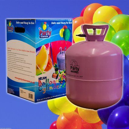 Disposable Helium Gas Cylinder - 50 Balloon Cylinder - Pack of 2