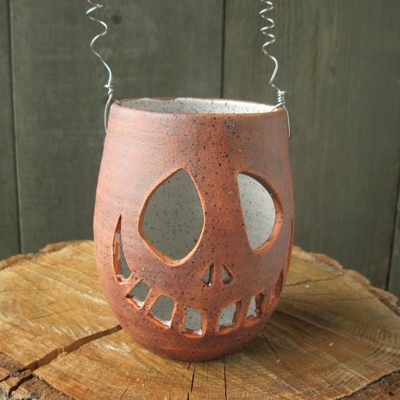 clay Jack O' Lantern