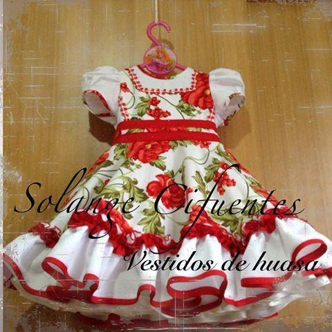 vestidos de china chilena - Buscar con Google