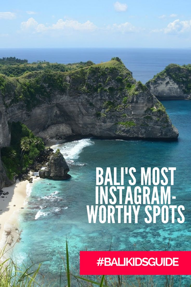 Are you an Instagram addict? Check out these must-snap spots on the island!