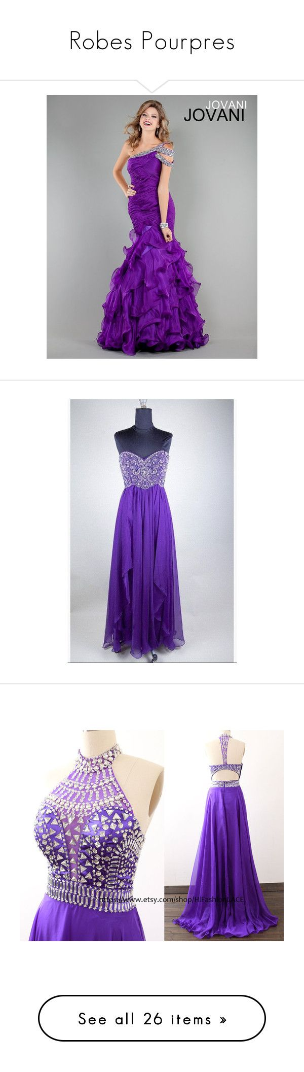"""""""Robes Pourpres"""" by artemisa-538 ❤ liked on Polyvore featuring long dresses, dresses, black, women's clothing, purple formal dresses, a line dress, long purple dress, long formal dresses, long chiffon dress and sequin tulle dress"""