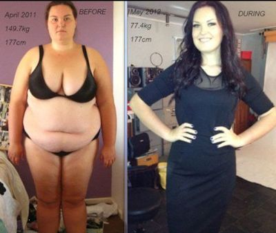 Why Before after Weight-loss Photos are Hotter than Jennifer Lawrence