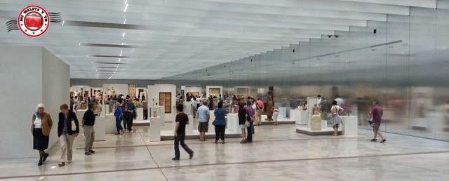La Galería del Tiempo en el Museo Louvre-Lens