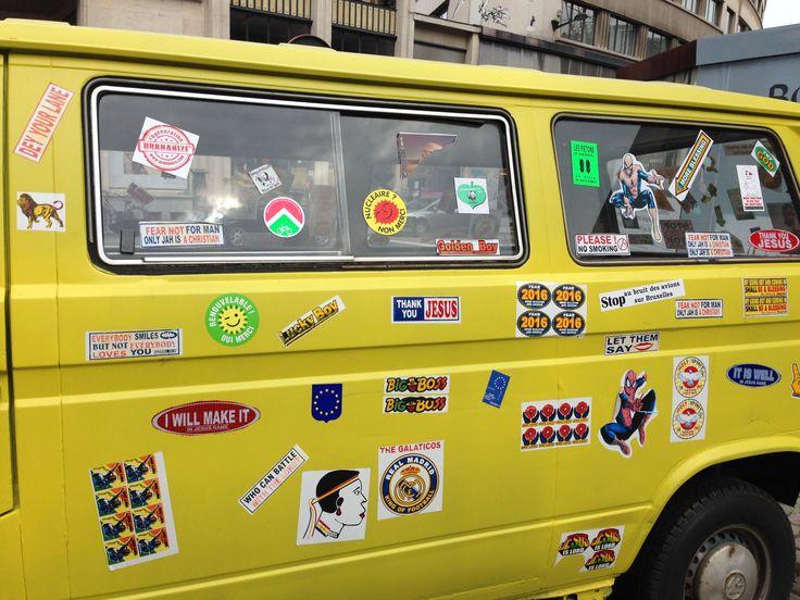#belgium #truck #design #urbhanize #stickers #brussels #dancefitness #travel