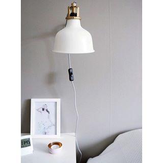 Ikea sänglampa