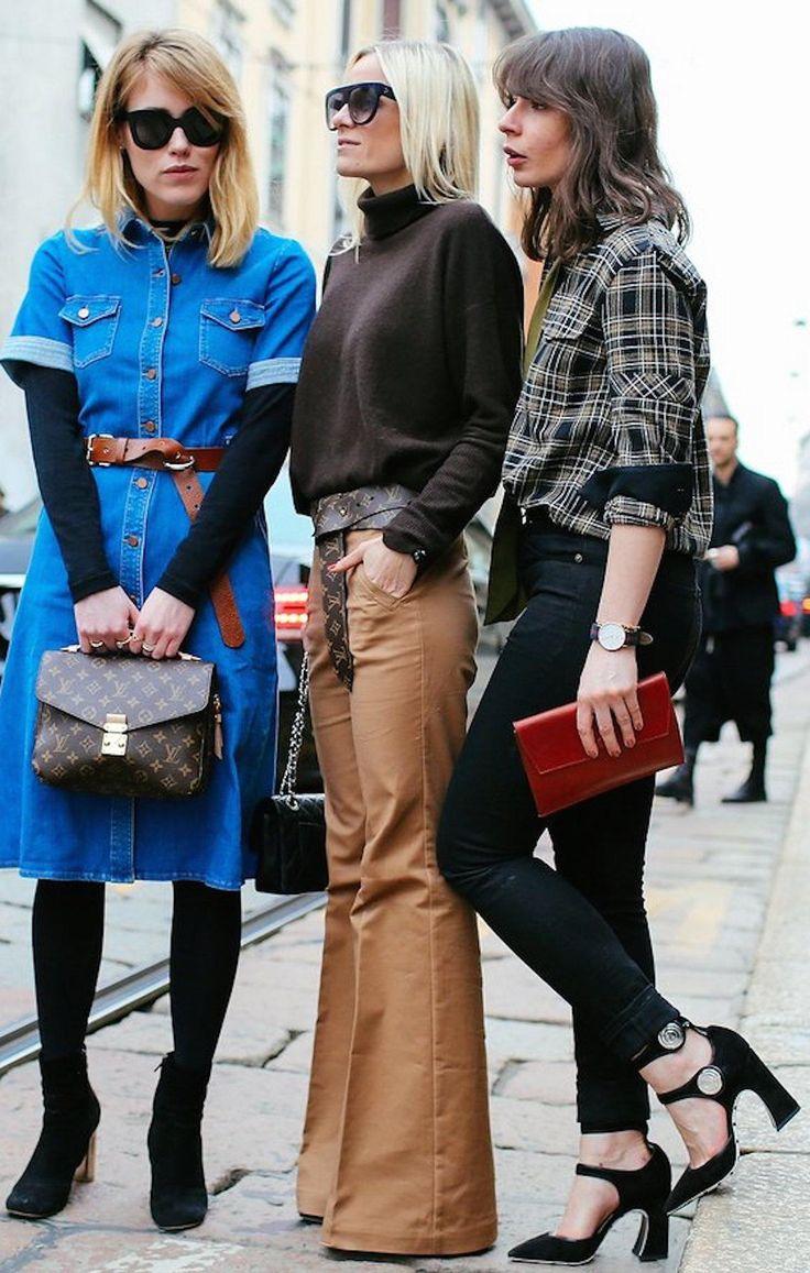 Fashion girl squad at Fashion Week