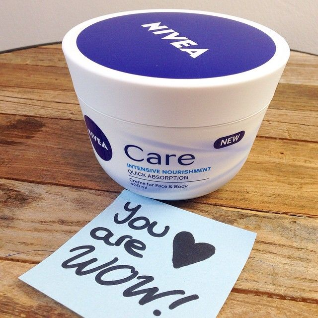 today we compliment our nivea care cream for 100. Black Bedroom Furniture Sets. Home Design Ideas