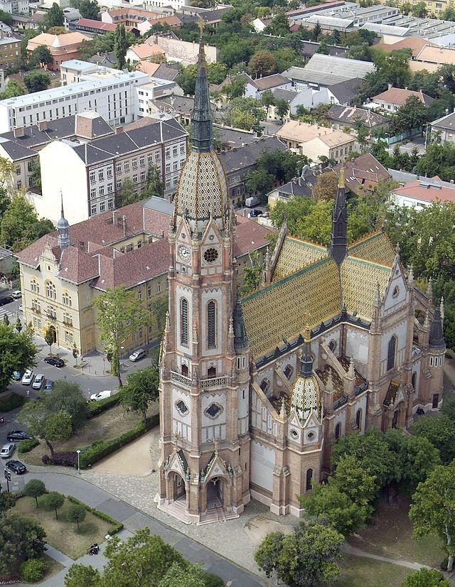 Szent László-templom (Kőbánya) - Tervezte- Lechner Ödön