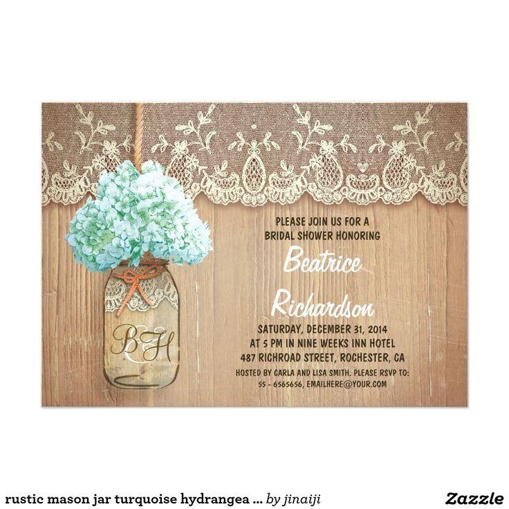 the 25+ best mason jar hydrangea ideas on pinterest | gold glitter, Baby shower invitations
