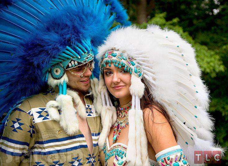 I wasn't surprised that 'My Big Fat Gypsy Wedding' crossed this particular line and featured 'Native-inspired' headdresses and clothing.