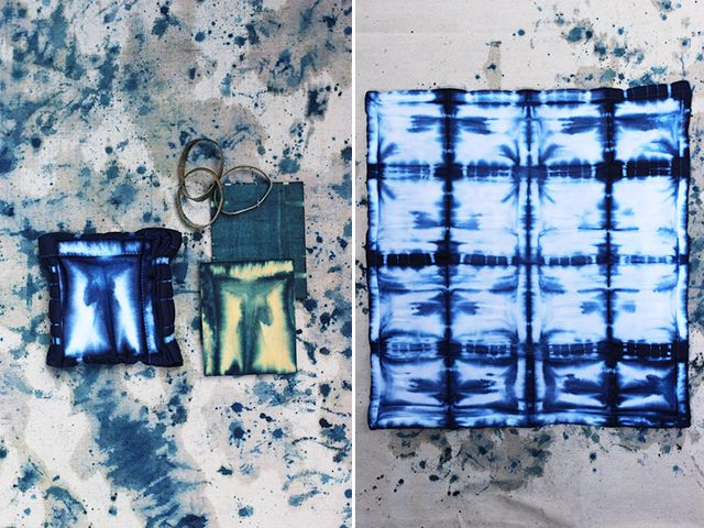 Today marks HonestlyWTF's four year anniversary. Four years! To celebrate, we're revisiting the very first tutorial we ever featured on the site: shibori tie dye. Lauren and I first discovered shibori after discovering an old photo on the web. The idea of recreating an ancient Japanese dyeing