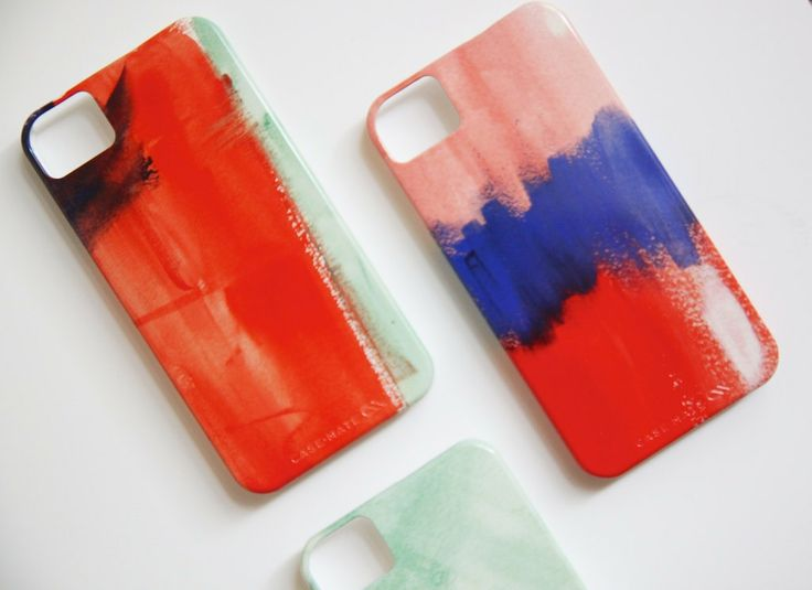 Watercolor iPhone 5 or 4 Case - Choose your color. $39.99, via Etsy.