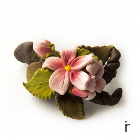 Spinka do Włos�łw z Kwiatami