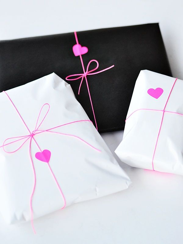 DIY gift wrap idea
