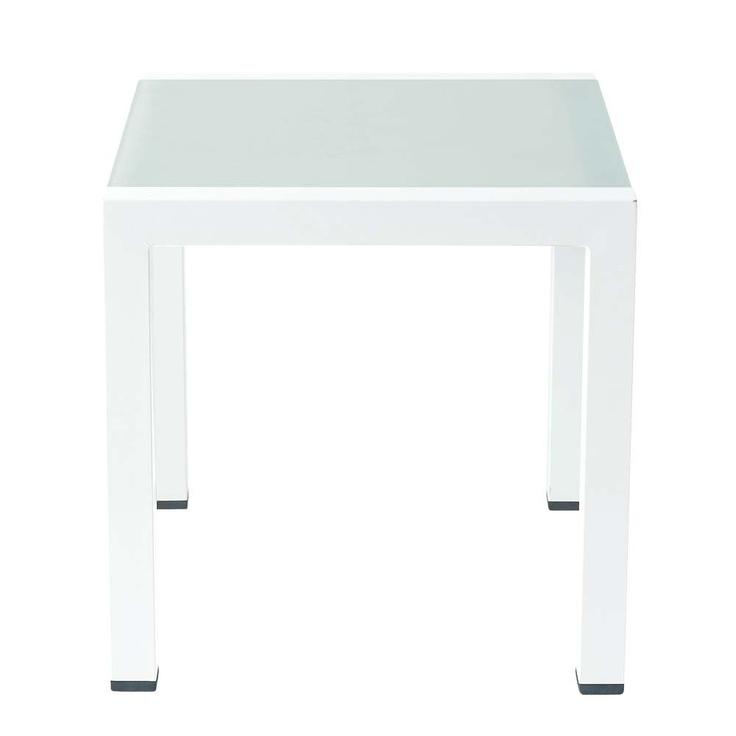 Tavolino da salotto bianco ANTALYA