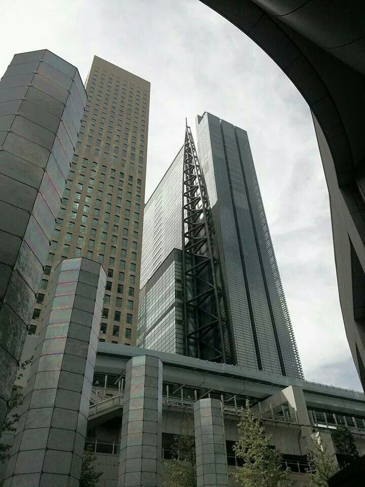 Shiodome skyscrapers