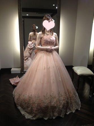 ルアンジェ タカミブライダル カラードレス ピンク - Google 検索