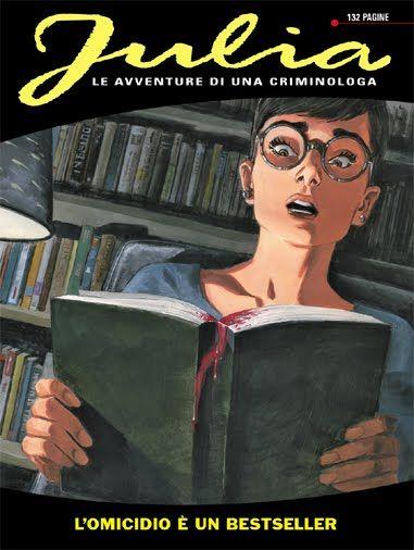 Julia. Female crime investigator. Great comic.