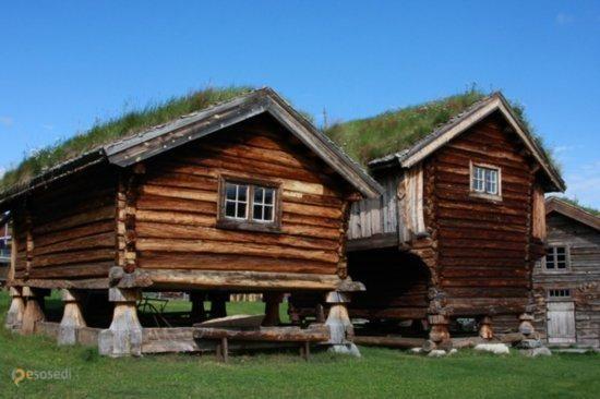 Geilo – #Норвегия #Бускеруд (#NO_06) Помните, мы писали про забавные, вросшие в землю с травой на крыше традиционные исландские дома? Так вот, дерновые крыши вообще популярны у северных народов и в Норвегии колосящиеся дома тоже не редкость.  #достопримечательности #путешествия #туризм http://ru.esosedi.org/NO/06/532481/geilo/