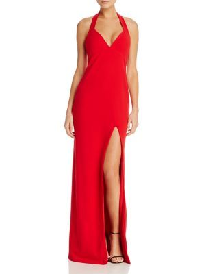 13e52e054bcb6 Nookie Medea Halter Gown - 100% Exclusive | Bloomingdale's | m dress ...